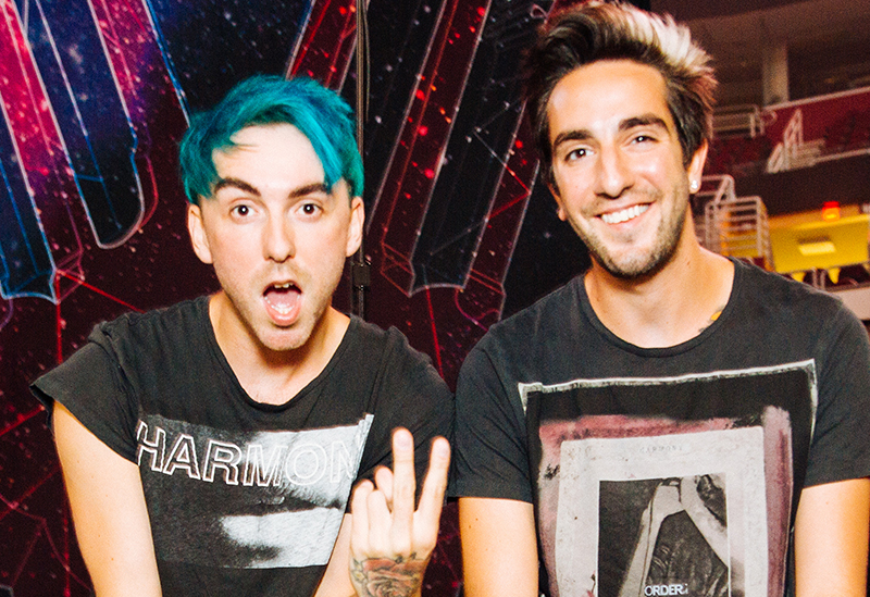 All Time Low Official Afterparty Manchester Alex Gaskarth Jack Barakat - Red Cardinal Music