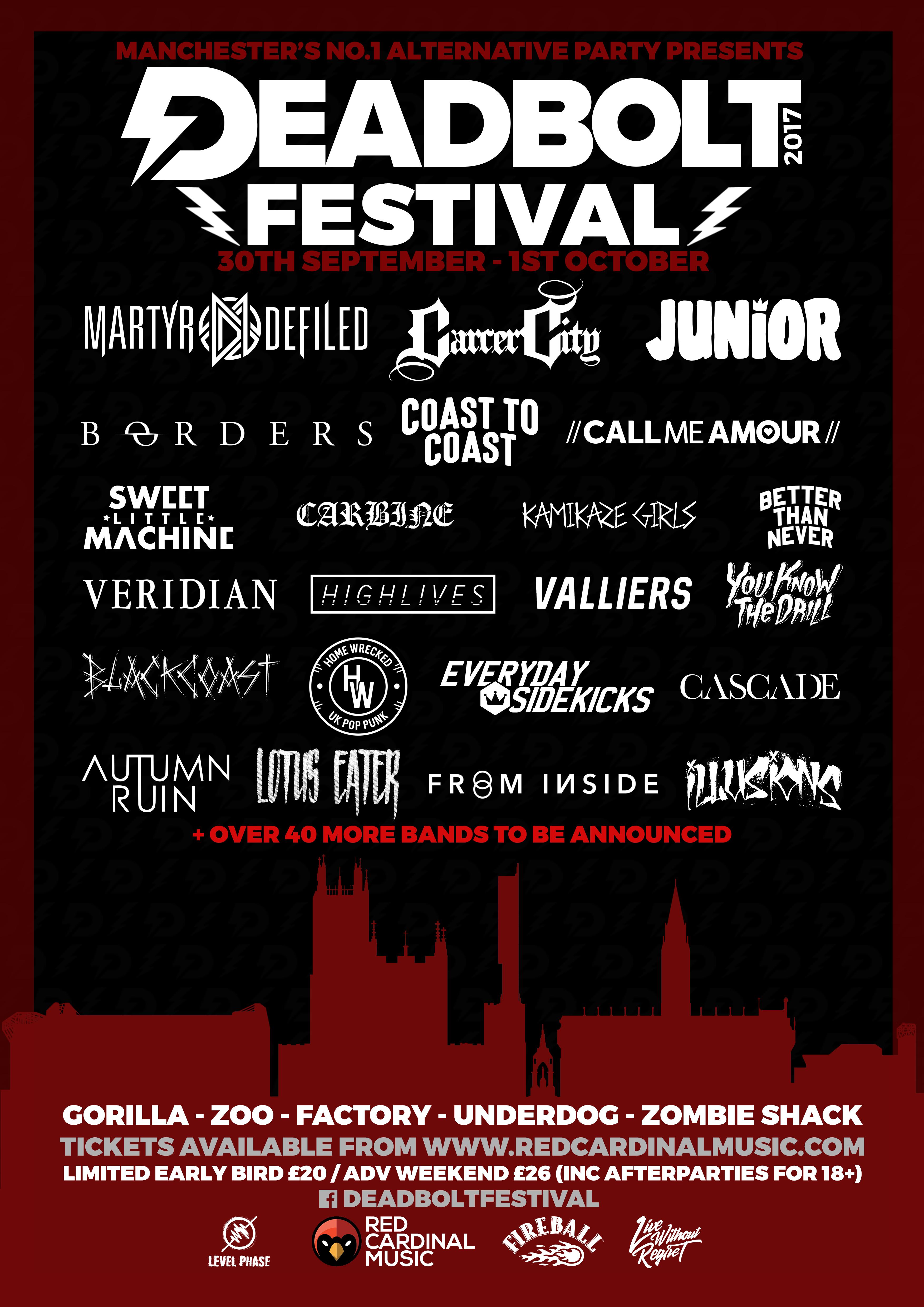 Deadbolt Festival 2017 Announcement 1 - RGB for web use - Red Cardinal Music