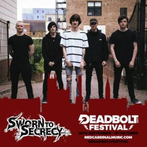 Deadbolt Festival 2017 Competition Winners - Sworn to Secrecy - Red Cardinal Music