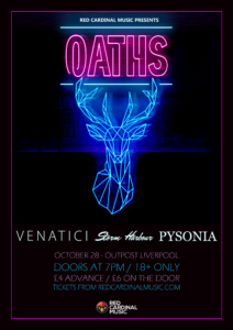 Oaths - Outpost Liverpool - Oct 28 - Red Cardinal Music