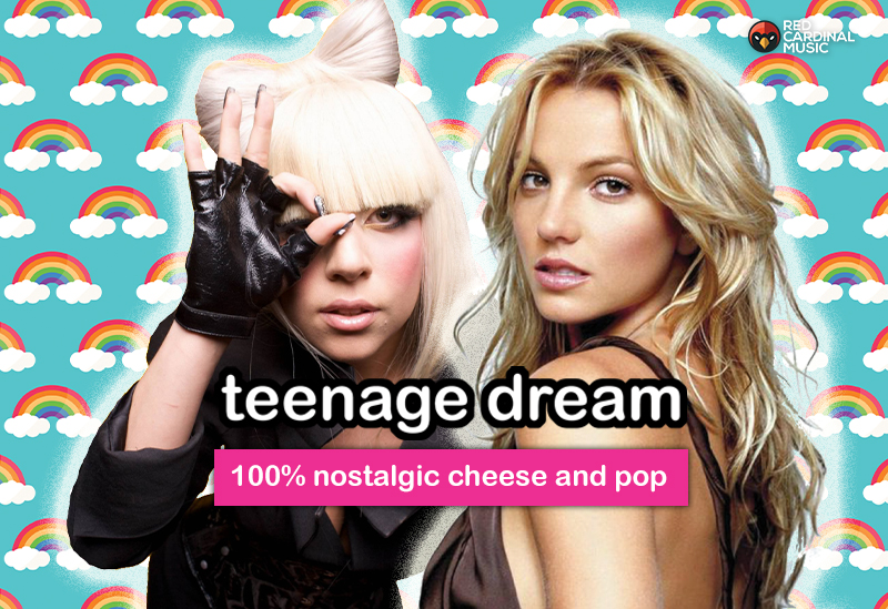 Teenage Dream - Launch - The Font - August 2019 - Red Cardinal Music