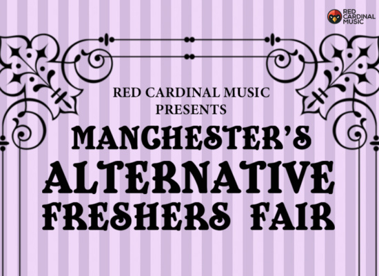 Red Cardinal Music Freshers Fair 2019 - Font Manchester - Red Cardinal Music