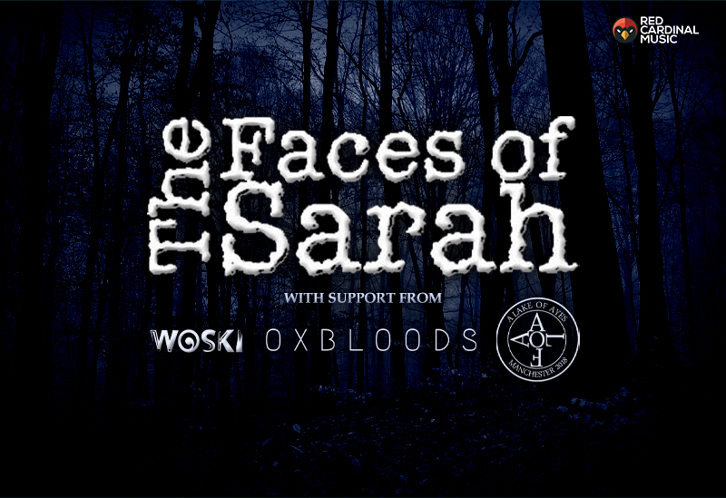 The Faces of Sarah at Star & Garter - Oct 19 - Red Cardinal Music