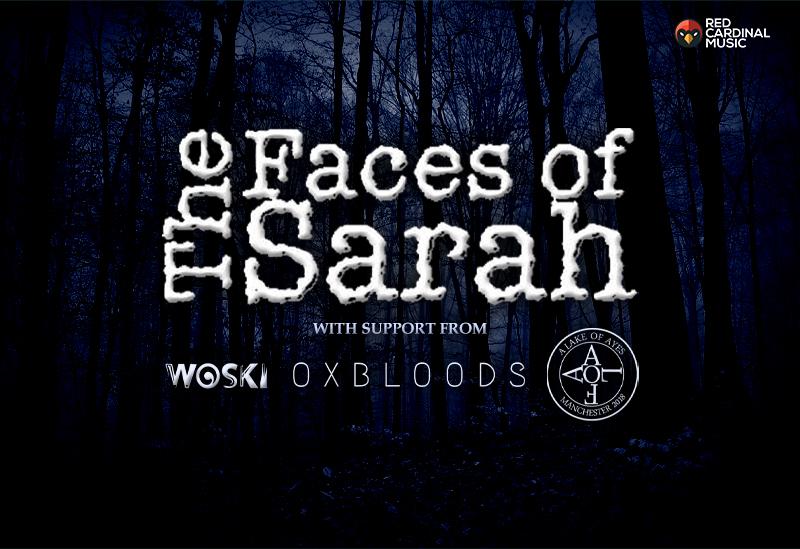 The Faces of Sarah at Star & Garter - Oct 19 - Red Cardinal Music