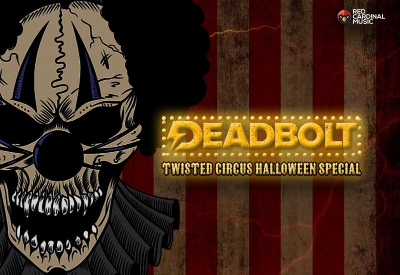 Deadbolt Manchester Alternative Halloween 2019 with Hot Milk- Red Cardinal Music