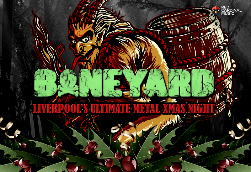 Boneyard - Shipping Forecast Liverpool - Dec 19 - Metal Christmas - Red Cardinal Music