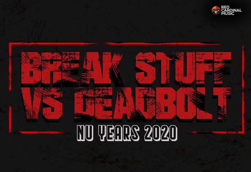Break Stuff Vs Deadbolt Alternative NYE Nu Years Meltdown - Night People - Metal Manchester - Red Cardinal Music