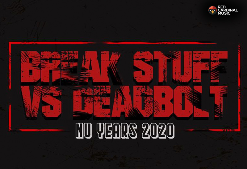 Break Stuff Vs Deadbolt Alternative NYE Nu Years Meltdown - Night People - Metal Manchester - Red Cardinal Music