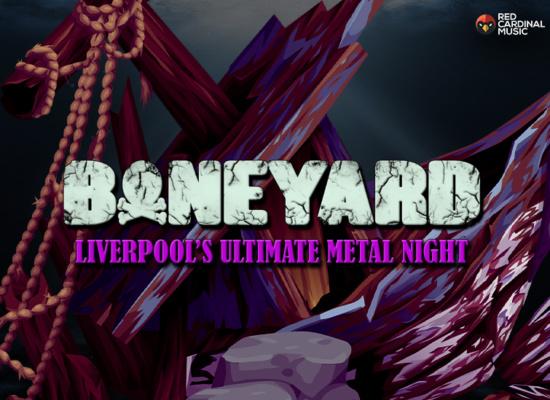 Boneyard - Metal Night - Shipping Forecast Liverpool - Jan 20 - Red Cardinal Music